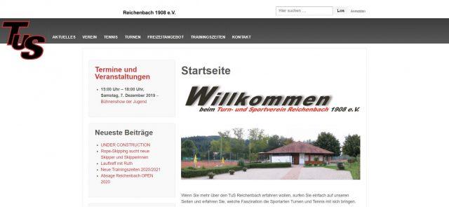 Neue Homepage ist ONLINE!!