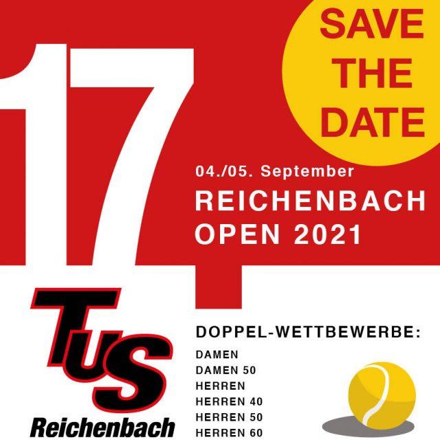 Safe the Date – Reichenbach Open 2021